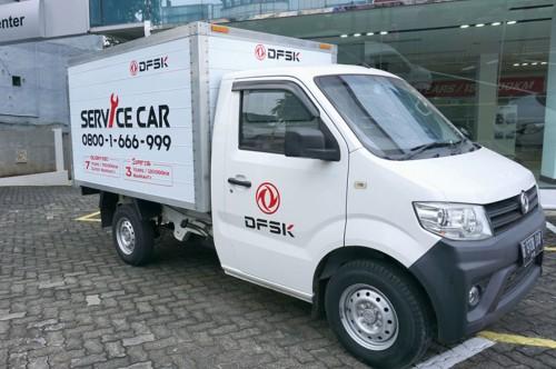 Service car milik DFSK. DFSK