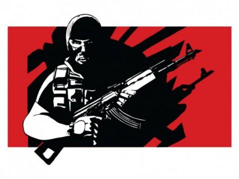 Kelompok bersenjata. IlustrasI: Medcom.id.