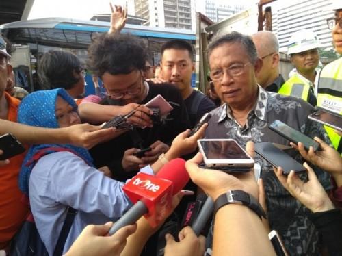 Coordinating Minister for Economic Affairs Darmin Nasution
