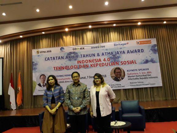 Seminar Catatan Akhir Tahun dan Atma Jaya Award