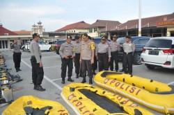 Polisi di Sidoarjo Siaga Bencana