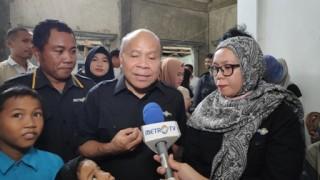 Metro TV Beri Bantuan ke Kontributor Terdampak di Palu