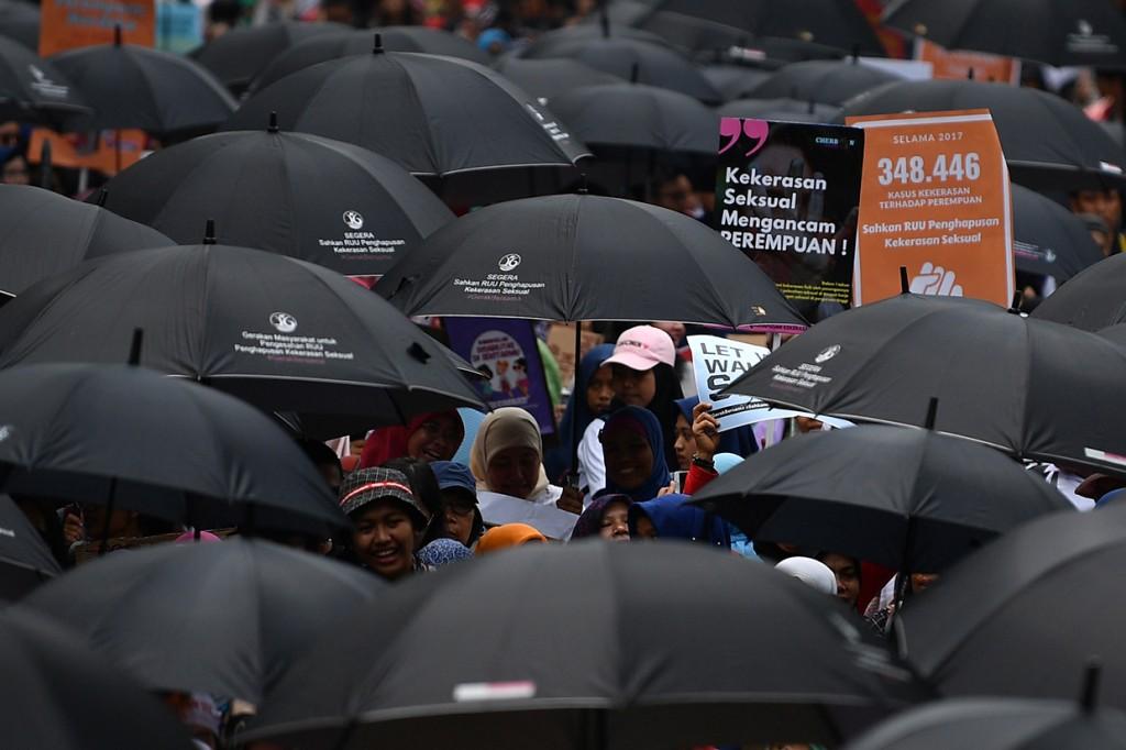 Ratusan Warga Desak Pengesahan RUU Penghapusan Kekerasan Seksual