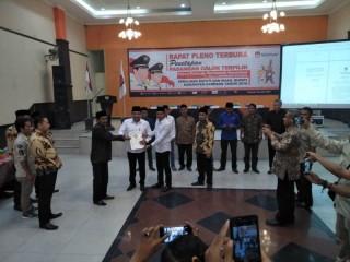 Selamet Junaidi-Abdullah Hidayat Ditetapkan Pemenang Pilbup Sampang
