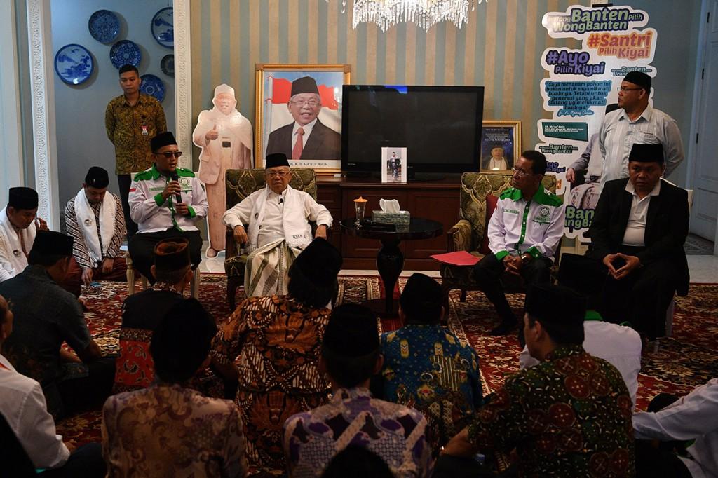 Forum Santri Indonesia Deklarasi Dukung Jokowi-Ma'ruf