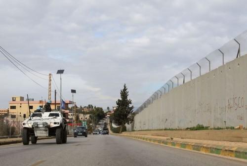 Perbatasan Lebanon-israel. (Foto: AFP).