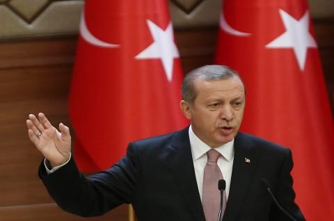 Erdogan: Demo Rompi Kuning Prancis Kegagalan Eropa