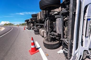 Ilustrasi kecelakaan truk. (Foto: Medcom.id)