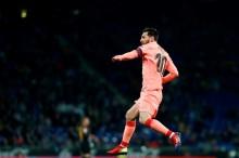 Dua Gol Keberuntungan dari Kaki Messi
