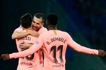 Derby Catalan, Barca Libas Espanyol 4-0