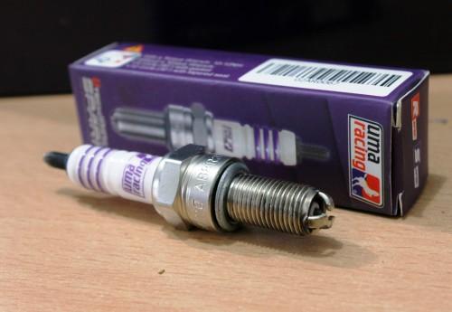 Uma Racing AB9R sudah menggunakan teknologi laser iridium. Uma