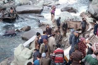 Bus Jatuh ke Jurang di India, 13 Orang Tewas