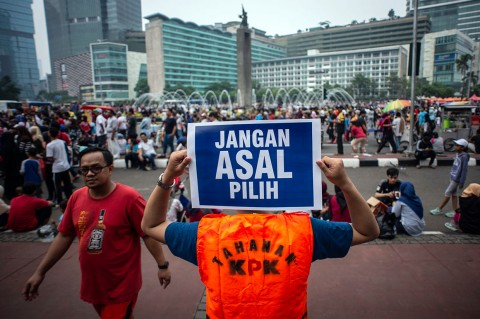 Peringatan Hari Antikorupsi Digelar di Berbagai Daerah