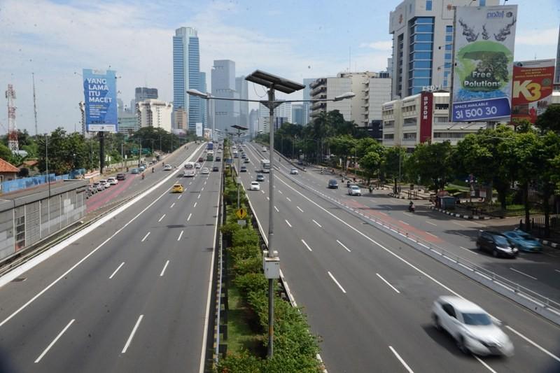 Ekonomi Indonesia. MI/MOHAMAD IRFAN.
