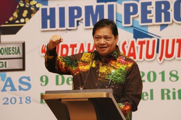 Menteri Perindustrian Airlangga Hartarto, Kemenperin/Humas.