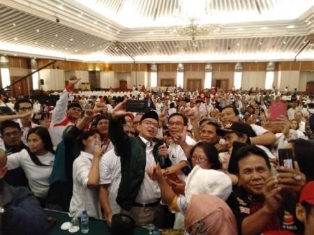 Relawan Diminta Kerja Keras Memenangkan Jokowi-Ma'ruf