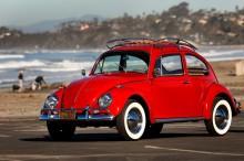 Setia Pakai VW Kodok, 'Annie ' Red Beetle Direstorasi