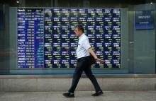 Pagi Ini, Sebagian Bursa Saham Asia Turun