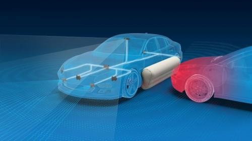 ZF meneliti efek pasangan airbag eksternal di mobil. ZF