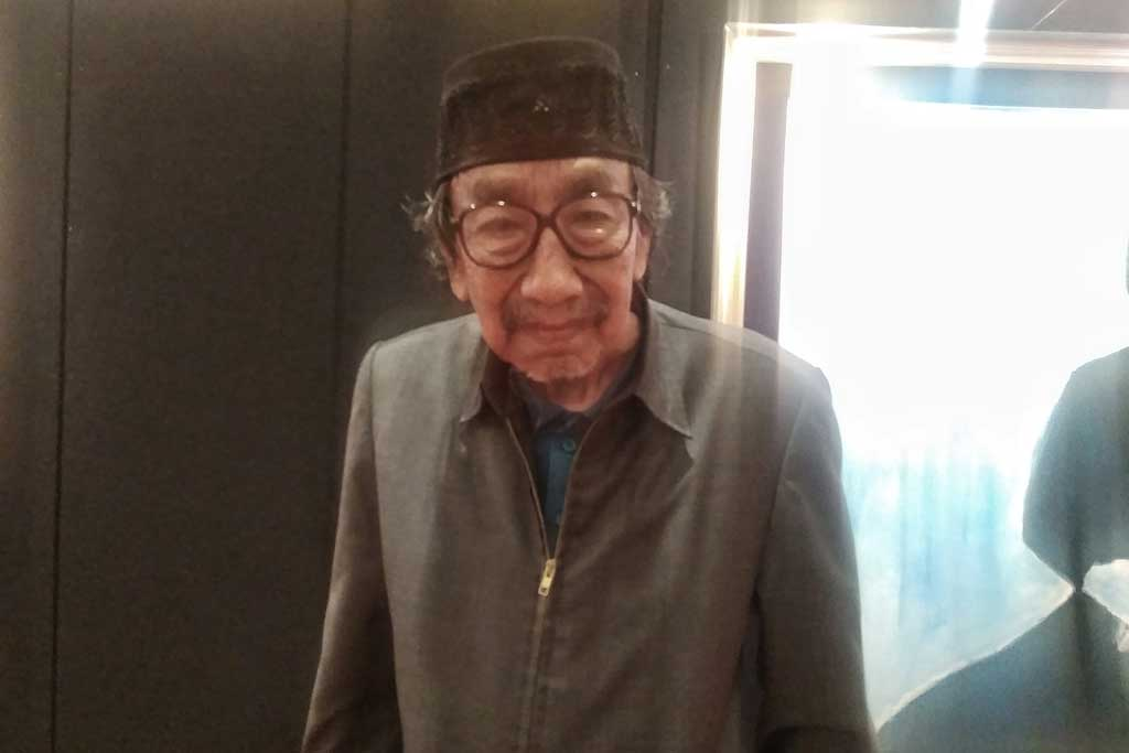 Jeihan Sukmantoro di Hotel Ritz Carlton Jakarta, Minggu, 9 Desember 2018. (Foto: Medcom.id/Cecylia Rura)
