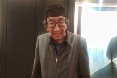 Jeihan Sukmantoro di Hotel Ritz Carlton Jakarta, Minggu, 9