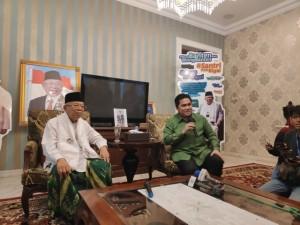 Ma'ruf Amin Janjikan Kejutan di Awal 2019