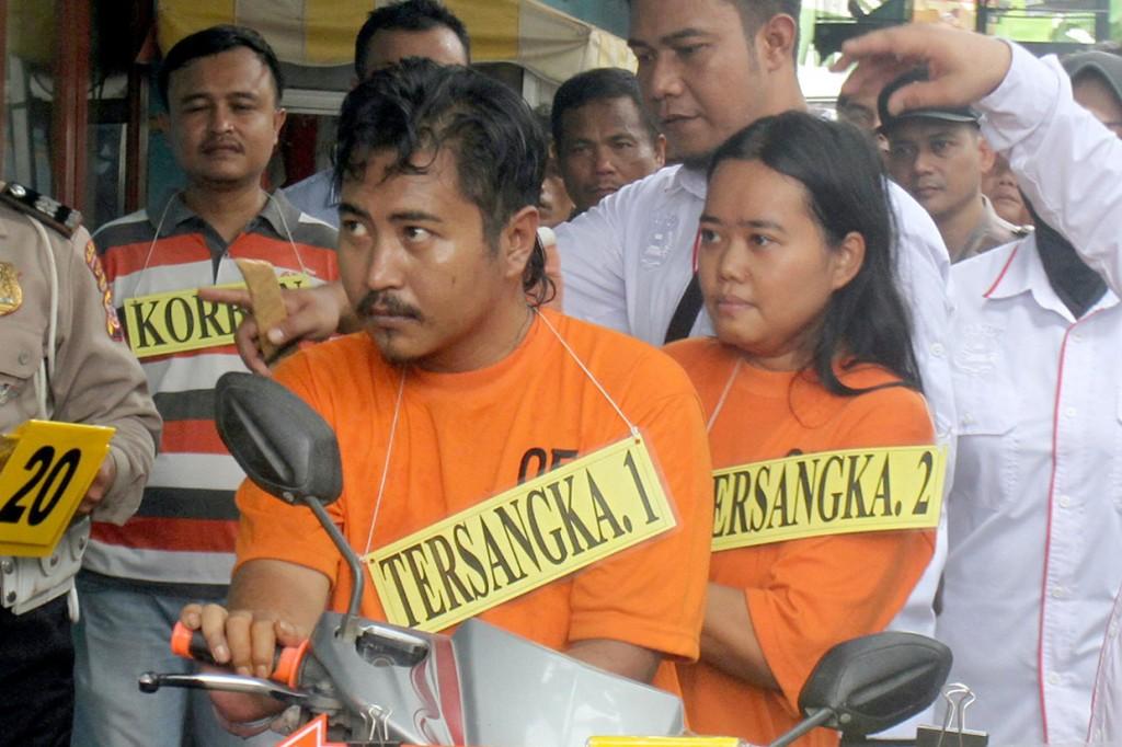 Tersangka Kasus Pembunuhan Dufi Jalani Rekonstruksi