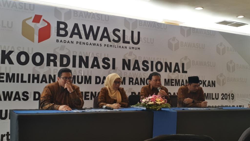 Rapat Koordinasi Nasional Pengawas Pemilu yang digelar Bawaslu. Foto: Medcom.id/Faisal Abdalla.