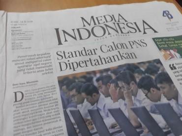 Media Indonesia Raih Penghargaan Berbahasa Indonesia Terbaik