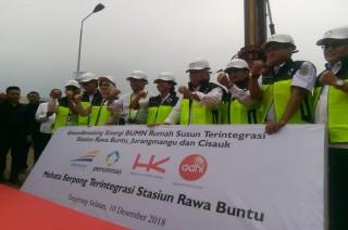 Tiga Rusun Terintegrasi Kereta Dibangun di Tangerang