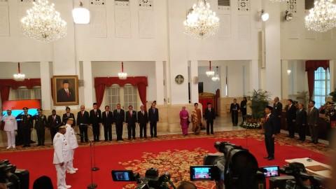 Jokowi Lantik Gubernur Riau dan Bengkulu