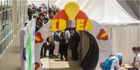 Mahasiswa TI UNPAR Pamerkan Produk Inovasi pada IDEA 2018