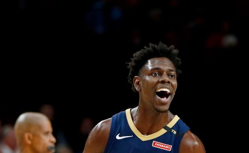 Point guard New Orleans Pelicans, Jrue Holiday (AFP/Jonathan