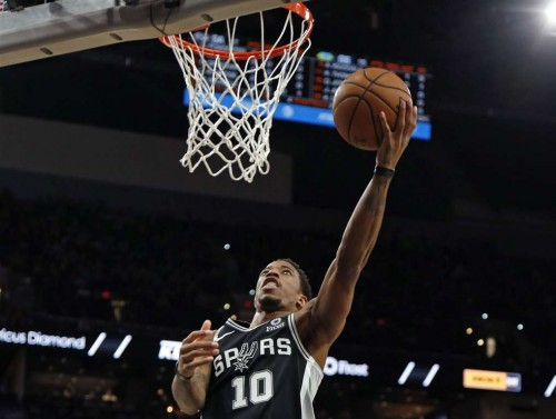 Shooting guard San Antonio Spurs, DeMar DeRozan (AFP/Ronald