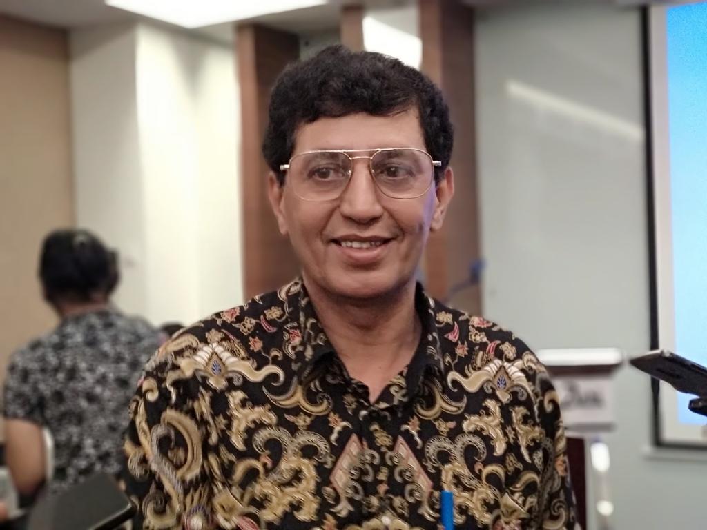 Direktur Industri Kimia Hilir Ditjen Industri, Kimia, Tekstil, dan Aneka Kemenperin Taufik Bawazier. (FOTO: Medcom.id/Husen Miftahudin)