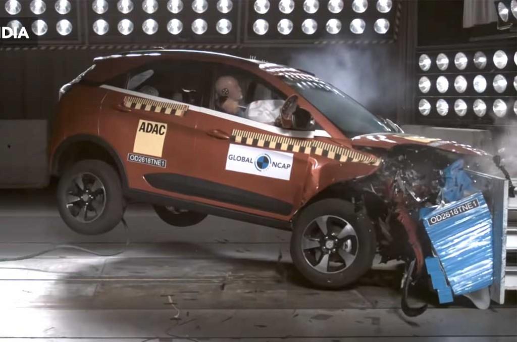 Global NCAP berikan rating 5 bintang buat Tata Motors Nexon atas keamanan penumpang dalam uji tabrak. Global NCAP
