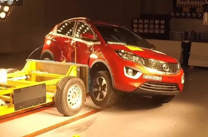 Tata Nexon menjalani uji tabrak dari samping untuk membuktikan tingkat keamanan tertinggi bagi pengemudi dan penumpangnya. Global NCAP