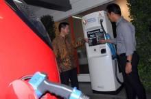 Mitsubishi Dukung Pertamina Bikin Green Energy Station