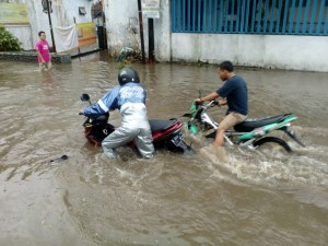 Hujan Deras, Sejumlah Titik di Malang Banjir