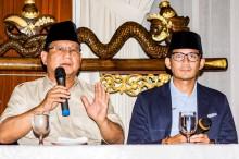 Perseteruan Gerindra-PKS di DKI Sandungan bagi Prabowo-Sandi