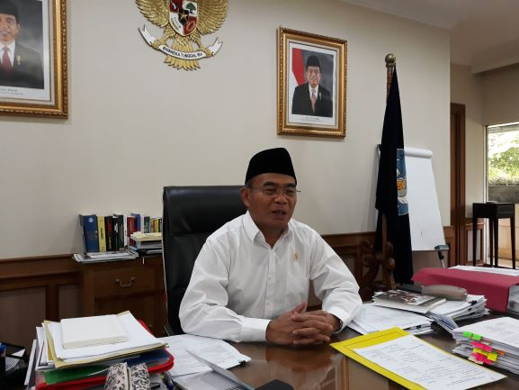 Mendikbud, Muhadjir Effendy, Medcom.id/Citra Larasati.