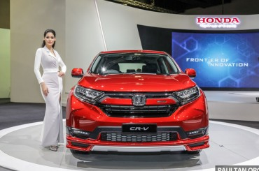 Aura Sporty Mugen di Honda CR-V