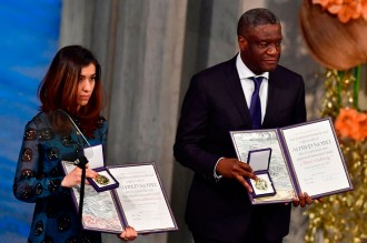 Nadia Murad Terima Nobel Perdamaian 2018
