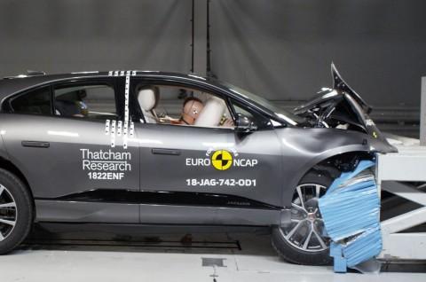 Jaguar I-Pace Sandang Bintang Lima dari EURO NCAP