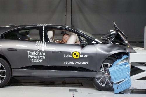 Jaguar I-Pace mendapatkan nilai bintang lima dari EURO NCAP.