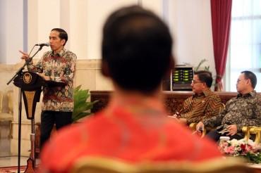 Jokowi Serahkan DIPA 2019
