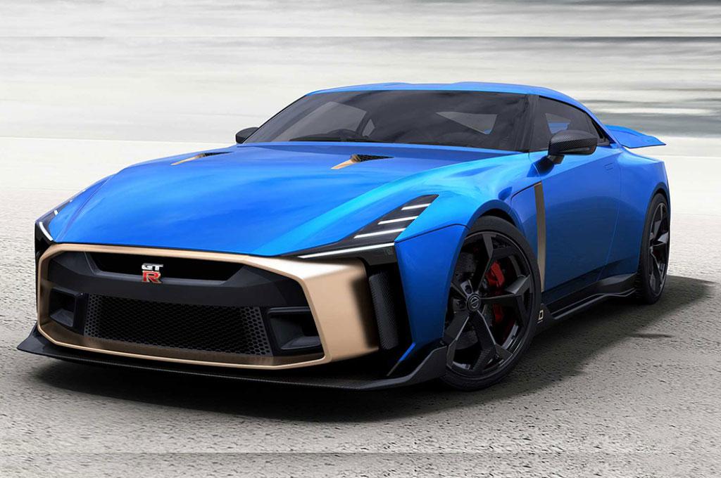 Nissan GT-R 50 Italdesign hanya akan diproduksi 50 unit. Nissan