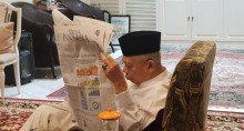 Ma'ruf: Peran Koran Tak Bisa Dinafikan