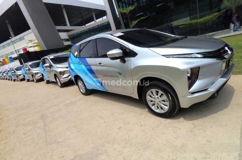 Garuda Indonesia beli 401 unit Mitsubishi Xpander buat kru kabin