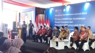 JK Mewakili Jokowi di Peringatan Hari HAM Internasional
